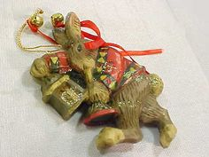 P-Schifferl-ChristmasBunny-Rabbit-Ornament-Midwest-Of-Cannon-Falls
