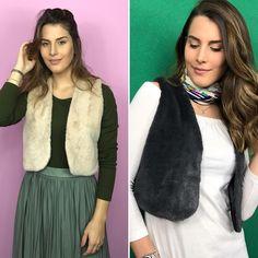 """15 curtidas, 1 comentários - coleteria ♡ (@coleteria) no Instagram: """"Adoramossss bolero de pelo, peça super ótima pra se ter no armário! Dá um charme a mais no look...…"""""""