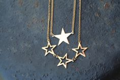 Vintage Gold ROCKSTAR Chain Gold Toned One Signed by ahunterrn, $20.00