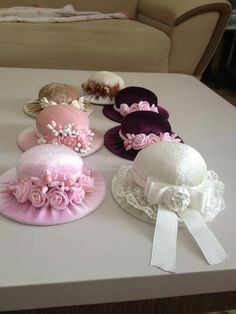 make the top of hat felted soap, make hat out of washcloth Fabric Crafts, Sewing Crafts, Sewing Projects, Projects To Try, Paper Crafts, Hat Crafts, Diy And Crafts, Pin Cushions, Hair Bows