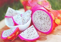 Gorgeous pink dragonfruit