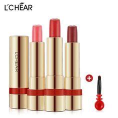 2017 Top Fashion Sale Full Size Lchear Lasting Moisturizing Color Lipstick Decoloring Matte Bean Paste To Moist Lip Gloss