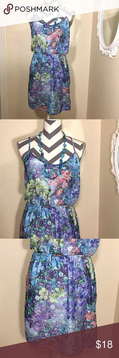 Aeropostale Dress In Great Condition! Very adorable floral dress. Perfect in spring or summer. Please see pictures. Bundle and Save in my closet. I ship the same day depending on the time of purchase. Otherwise, the next day morning with exemptions of Sundays. Also accepting reasonable offers. Thanks for checking! Happy shopping and happy poshing! 😊❤️ Aeropostale Dresses Midi
