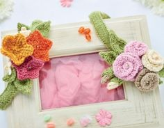 Hair Garlands - free knitting pattern to download over the Let's Knit website!