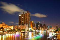 One of famous sightseeing places in Kaohsiung ~ Love River, Xinxin District, Kaohsiung City, Taiwan