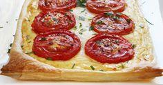 Recette de Tarte légère à la ricotta et tomate . Facile et rapide à réaliser, goûteuse et diététique. Ingrédients, préparation et recettes associées.