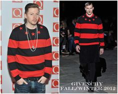 The Derek's Blog: Professor Green en Givenchy – The Q Awards 2012