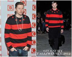 The Derek's Blog: Professor Green en Givenchy – The Q Awards 2012