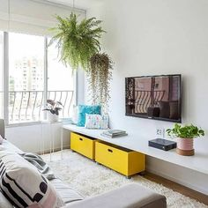 23 Gorgeous Small Living Room Inspiration for 2019 Living Pequeños, Small Living Rooms, Home And Living, Interior Design Living Room, Living Room Designs, Living Room Furniture, Living Room Decor, Piece A Vivre, Living Room Inspiration