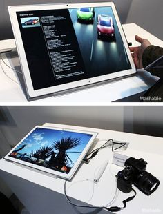Panasonic's Enormous 20-Inch 4K Tablet