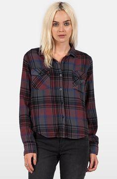 Volcom 'Desert Coast' Plaid Shirt
