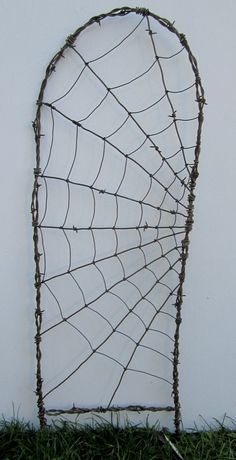 spider web trellis on Etsy.