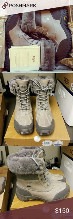 Ugg Adirondack Boot (Size 7) Brand New/Never Worn Authentic UGG Snow Boot Size: 7 Color: Grey **Selling Price on Mercari $120. (Mrs Jones)** UGG Shoes Winter & Rain Boots