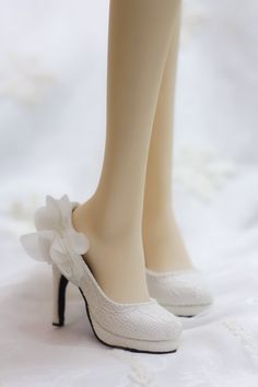 1/3 girl bjd doll shoes,sd13/sd16 shoes ,Flower lace shoes, wedding shoes, high heels shoes,volks DD Leeke