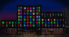 Hotel G, Beijing: Trendy boutique hotel in the nightclub district where switches in your room allow you to change the color of your window! http://tinyurl.com/4l89r87