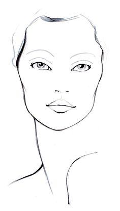 Facechart for Sephora by Amelie Hegardt