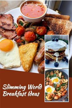 Check out these great Slimming World breakfast ideas. Fantastic Slimming World fry up, syn free breakfast hash and Slimming World pancakes. These are oat pancakes and are syn free until you add the toppings. Check out my blog for loads more Slimming World recipes including breakfast recipes. Syn Free Breakfast, Breakfast Hash, Breakfast Ideas, Breakfast Recipes, Slimming World Pancakes, Slimming World Breakfast, Oats Recipes, My Recipes, Healthy Recipes