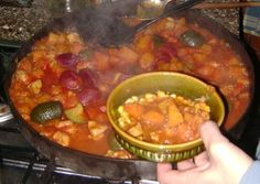Cazuela de pollo y verduras al disco de arado