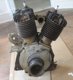 Amazing Rusty Finds - #searchlocated - 1916 Indian Chief Power Plus Engine Motor