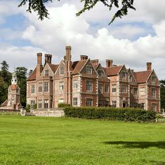 'Breamore House, Hampshire, United Kingdom' by Andrew Harker English Country Manor, English Manor Houses, English House, English Tudor, Old Mansions, Villa, Castle House, England Uk, Beautiful Buildings