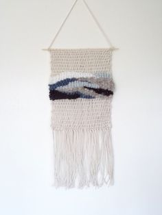 Woven Tapestry Wall Hangings woven wallhanging no.12 // hand woven tapestry wall hanging