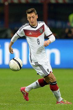 ~ Mesut Ozil of Germany against Italy ~