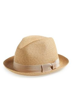 Free shipping and returns on rag  amp  bone Sewn Straw Fedora at  Nordstrom.com b5c99bdc059a