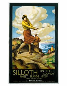 Silloth #Vintage #Rail #Railway #Train #Poster #Posters #Prints #Print #Art #UK #Britain #British #Old #Travel #Cumbria www.vintagerailposters.co.uk