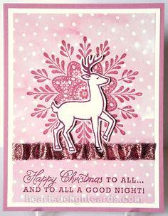 Heart's Delight Cards: Sweet Sugarplum Christmas w/ instr