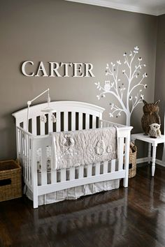 Project Nursery - Gray Owl Themed Nursery - Project Nursery