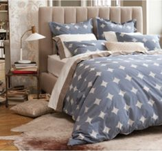 Our Sloane Bed is a #DwellStudio classic!