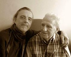 """A dad's #Alzheimer's"" J. Michael Walker and his father."