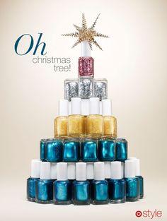 Oh, Christmas tree! #Style #Essie