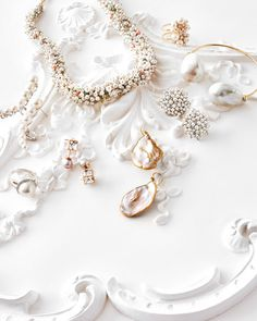 We'd never stop you from wearing Grandma's heirlooms down the aisle, but these modern twists on pearls are so beautiful—and bold&mdashthey may tempt you to buck tradition. Or, to go right ahead and mix something old with something new.