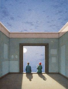 Quint Buchholz (German, 1957) - The Joy of Light, 2001