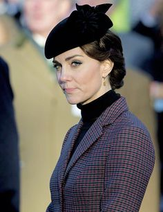 The Duchess of Cambridge attending a service in Norfolk to mark the 100th anniversary of the Gallipoli campaign | January 10th, 2016.