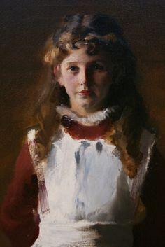 "John Singer Sargent (1856 –1925): Detalle de ""Hermanas de Edward Darley Boit""."