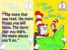Cat in the Hat (Dr. Seuss)  It's Dr. Seuss' B-day.  He would be turning 108 if he were alive today.