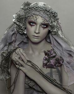 Galliano - possible inspiration for halloween makeup #sfx #halloween  #makeup