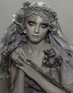 Galliano - possible inspiration for halloween makeup #sfx #halloween  #makeup