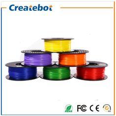 Createbot 3D Printer Filament PLA 1.75mm 3D Printing Materials 1KG Plastic 3d printer Consumables Material