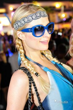 Paris Hilton at Ushuaia Ibiza Beach Hotel