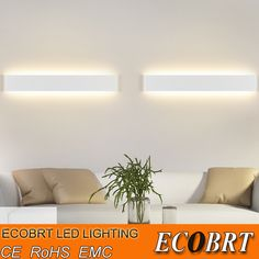 Find More LED Indoor Wall Lamps Information about ECOBRT Modern 6W 24cm Long Aluminum LED Indoor Wall Lamps in Foyer as Decoration Sconce Light 90 260V ac,High Quality led subwoofer,China led camp lamp Suppliers, Cheap lamp led mr16 from ECOBRT LED LIGHTING on Aliexpress.com