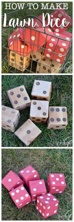 DIY Lawn Dice and RYOBI Giveaway