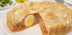 46 New Ideas For Recipe Salmon Pasta Milk Recipes, Low Carb Recipes, New Recipes, Soup Recipes, Healthy Recipes, Easy Chicken Recipes, Salmon Recipes, Quiches, Argentina Food