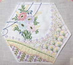 CQJP2015 March block all but finished, by Rhonda Dort.