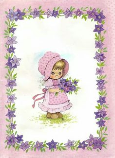 Zsuzsa Fuzesi Sarah Kay, Decoupage Paper, Precious Moments, Cute Illustration, Kids Cards, Cute Pictures, Disney Characters, Fictional Characters, Projects To Try