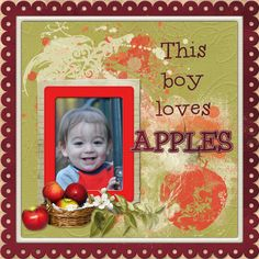 Digital Scrapbook kit PattyB Scraps APPLE OF MY EYE http://www.godigitalscrapbooking.com/shop/index.php?main_page=index&cPath=234_413_443&sort=20a&filter_id=149&alpha_filter_id=0 Template - made by me