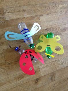 Maak 't even!: Lampion vlinder, libel of lieveheersbeestje