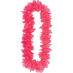 Pink Paradise Lei 40in - Party City